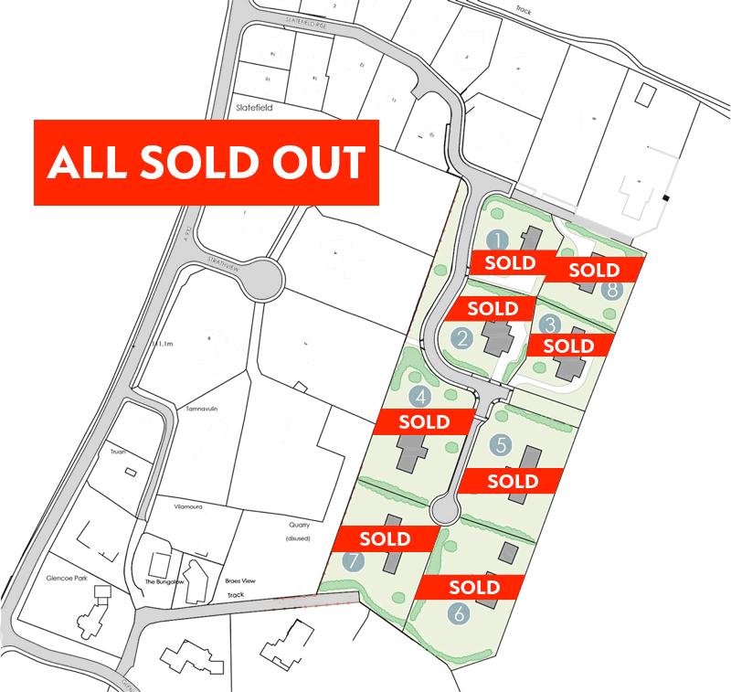 Strathview Rise Site Plan